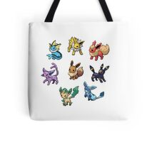 Pixel Eeveelutions V.2 Tote Bag