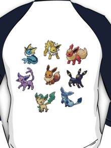 Pixel Eeveelutions V.2 T-Shirt