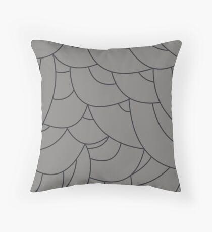 scale texture Throw Pillow