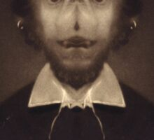 Portrait of the Mutant Shakespeare Sticker
