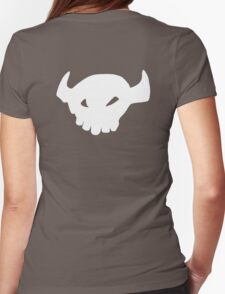 Toothless tail Womens Fitted T-Shirt