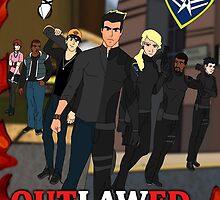 Outlawed Justice Season 1 Poster by InnerWarrior