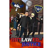 Outlawed Justice Season 1 Poster Photographic Print