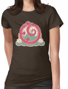 Ouroboros of Happiness Womens Fitted T-Shirt