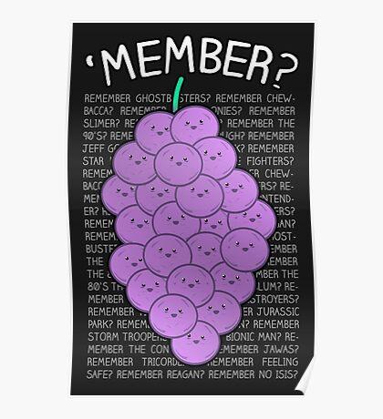 'MEMBER? Poster