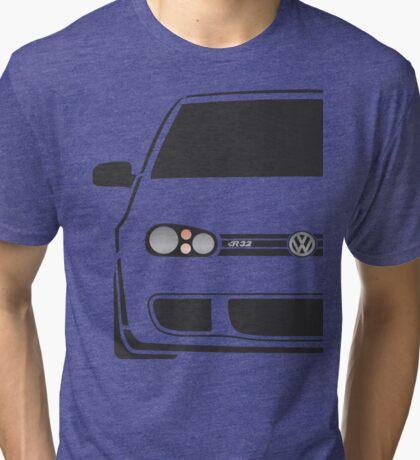 MK4 R32 Half Cut Tri-blend T-Shirt