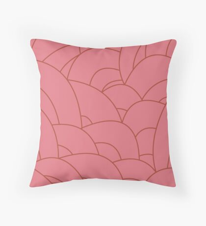 scale texture v3 Throw Pillow