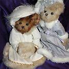 Two Beary Fine Ladies by Vivian Sturdivant
