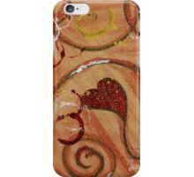 Heart to stay  iPhone Case/Skin