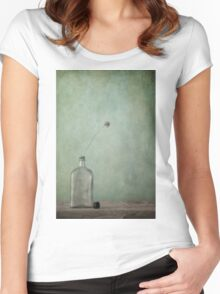 Just an old bottle and its cap Women's Fitted Scoop T-Shirt