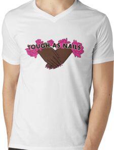 Tough as Nails [Hand tone 1] Mens V-Neck T-Shirt