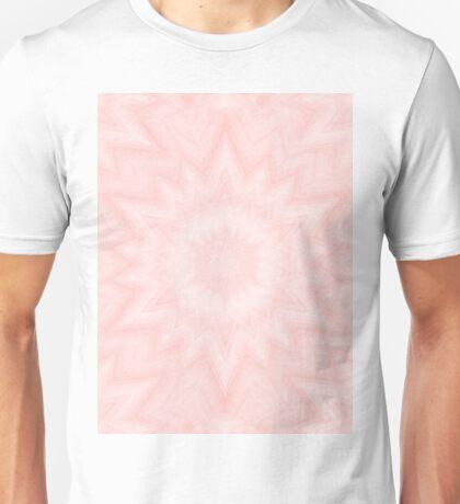 Delicate kaleidoscope in Baby Pink Unisex T-Shirt