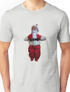 Creepy Vintage Santa Claus 2 Unisex T-Shirt