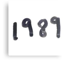 1989 Metal Print