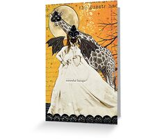 Baroque Masquerade Ball Greeting Card