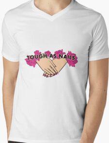 Tough as Nails [Hand tone 3] Mens V-Neck T-Shirt