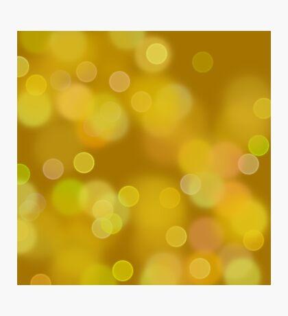 gold glitter Photographic Print