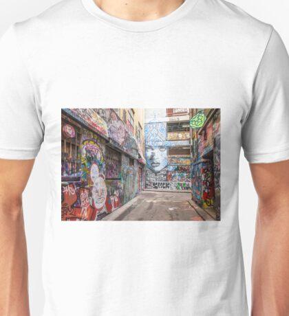 Rutledge Lane Faces Unisex T-Shirt