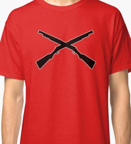 shotgun hunt chasse fusil à pompe Classic T-Shirt