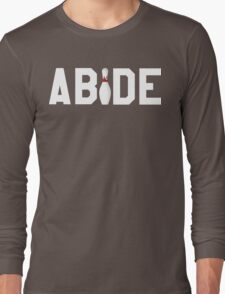 Abide Big Lebowski Long Sleeve T-Shirt