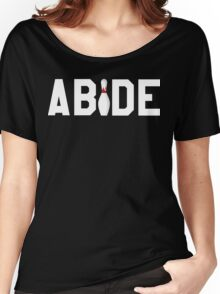Abide Big Lebowski Women's Relaxed Fit T-Shirt