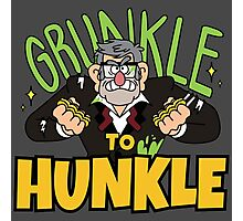 Grunkle to Hunkle Photographic Print