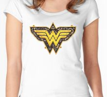 Wonder Woman Women's Fitted Scoop T-Shirt