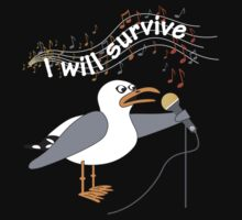 I Will Survive T-shirt by Jacqueline Eden