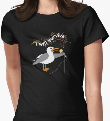 I Will Survive T-shirt Womens Fitted T-Shirt