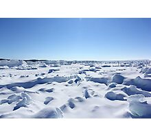 Leelanau Michigan Ice Photographic Print