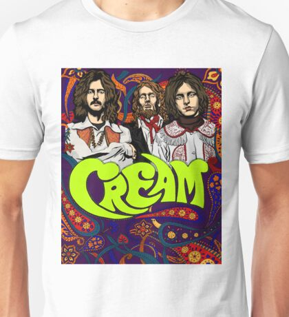 Cream Band, Clapton Unisex T-Shirt