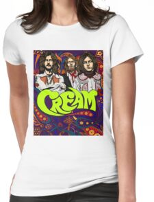 Cream Band, Clapton Womens Fitted T-Shirt