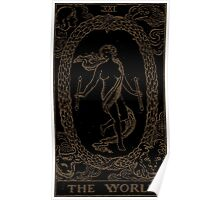 The World Tarot Poster