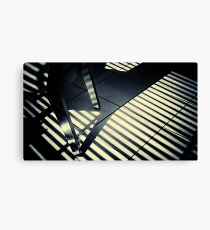 Shadow Slit Abstract Canvas Print