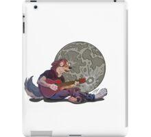 Howlin' at the Moon iPad Case/Skin