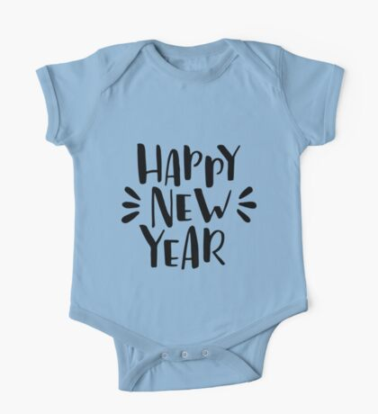 Happy New Year! One Piece - Short Sleeve