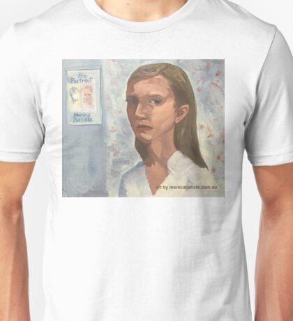 Portrait of Gina Unisex T-Shirt