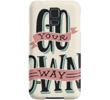 Be free Samsung Galaxy Case/Skin