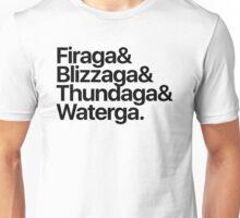Final Fantasy Spells - Level 3 (black text) Unisex T-Shirt