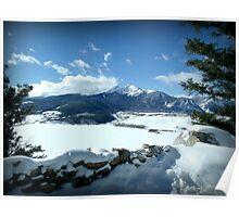 Lake Dillon Winter Poster