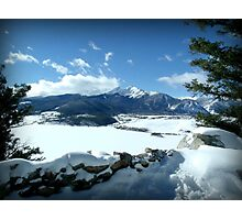 Lake Dillon Winter Photographic Print