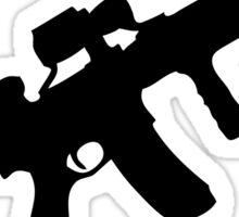 sniper rifle gun game Sticker