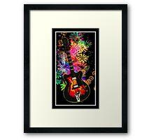 Guitar Moods Framed Print