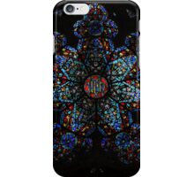 Rose Window - Gothic Revival SJDNY1 iPhone Case/Skin