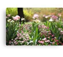 perfect rows Canvas Print