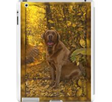 Trusty Trail Companion iPad Case/Skin