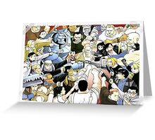 The Elric Fistbump Greeting Card