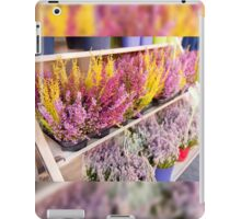 Shop shelves with blooming heather iPad Case/Skin