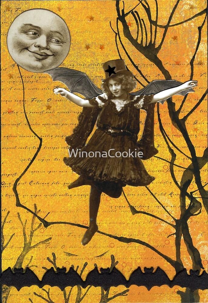 Halloween Sky Waltz by WinonaCookie