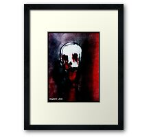 Of Red Death Framed Print